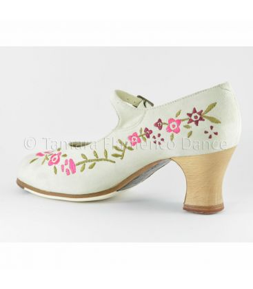 in stock flamenco shoes professionals - Begoña Cervera - Bordado Correa I (embroidered)