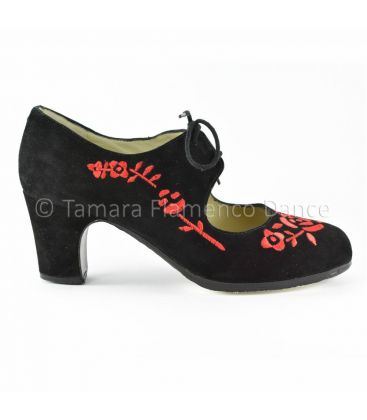 flamenco shoes professional for woman - Begoña Cervera - Bordado Cordonera (embroidered)