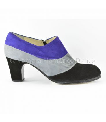 flamenco shoes professional for woman - Begoña Cervera - Tricolor