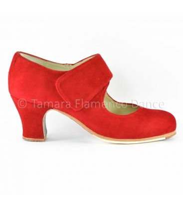 flamenco shoes professional for woman - Begoña Cervera - Velcro