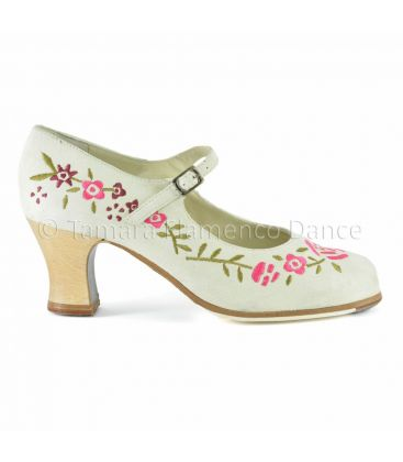 flamenco shoes professional for woman - Begoña Cervera - Bordado Correa I (embroidered)