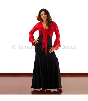 maillots bodys flamenco tops for woman - - Chupita linares of lace