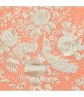 Manila Shawls - Salmon with ivory