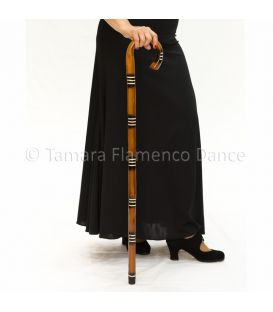 Cane for dance with lines