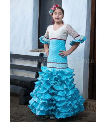flamenco dresses 2016 - - Feria light blue