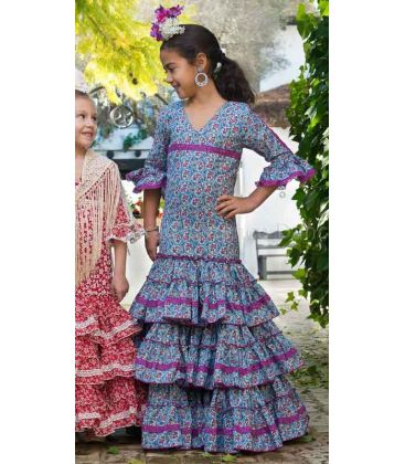 flamenco dresses 2016 - - Fino blue