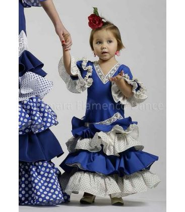 flamenco dresses 2016 - Roal - Verdiales Blue for girl