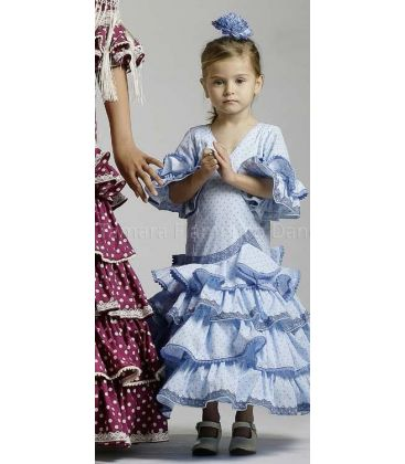flamenco dresses 2016 - Roal - Picara light blue for girl