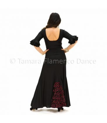 flamenco skirts for woman - - Almeria with polka dots- Knitted (skirt-dress)