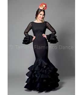 woman flamenco dresses 2016 - Aires de Feria - Veronica black