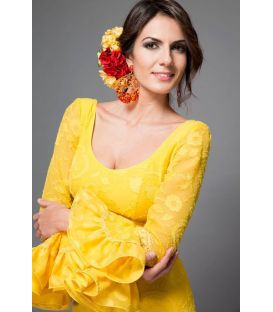 Sofia yellow lace