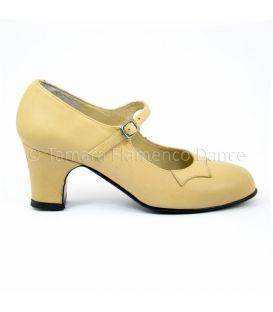 Semiprofessional (Begoña Cervera) trainning beige leather