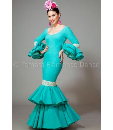 woman flamenco dresses 2016 - Aires de Feria - Brisa sea green