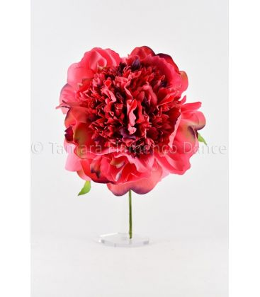 flores de flamenca - - Flor Peonia Sra M ( 10 colores disponibles)
