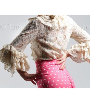blouses and flamenco skirts in stock immediate shipment - Roal - Coral ( blouse)