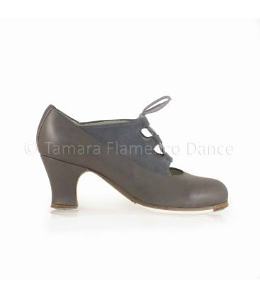 flamenco shoes professional for woman - Begoña Cervera - Antiguo grey leather