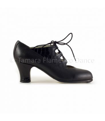flamenco shoes professional for woman - Begoña Cervera - Antiguo cocodrile leather