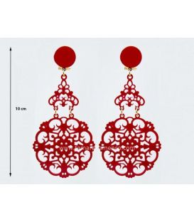 Earrings 34 - Acetate