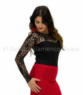 maillots bodys flamenco tops for woman - - Desplante Body - Lycra and lace