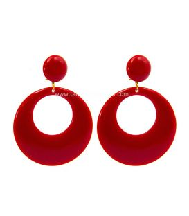 flamenco earrings - - Earrings Super ( size L)