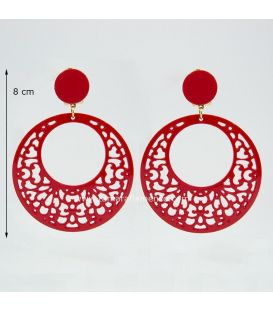 Earrings 13 - Acetate