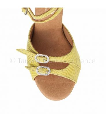 ballroom and latin shoes for woman - Rummos - Elite Elena yellow