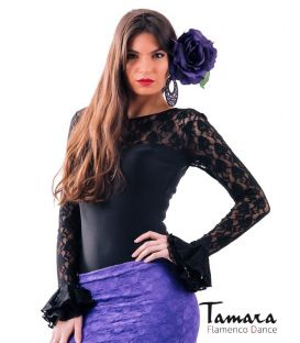 maillots bodys flamenco tops for woman - - Desplante with flounces Body