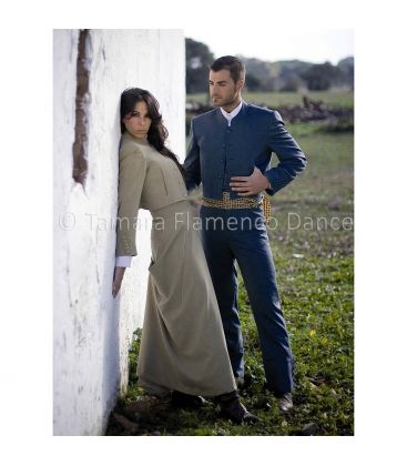 traje corto andalusian costume for men unisex - -