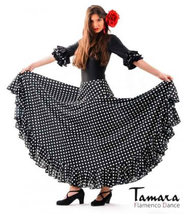 flamenco skirts for woman - - Sevillana with Polka dots