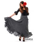 Sevillana with Polka dots - Knitted