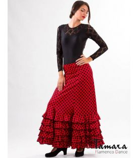 Gitana with polka dots - Knitted