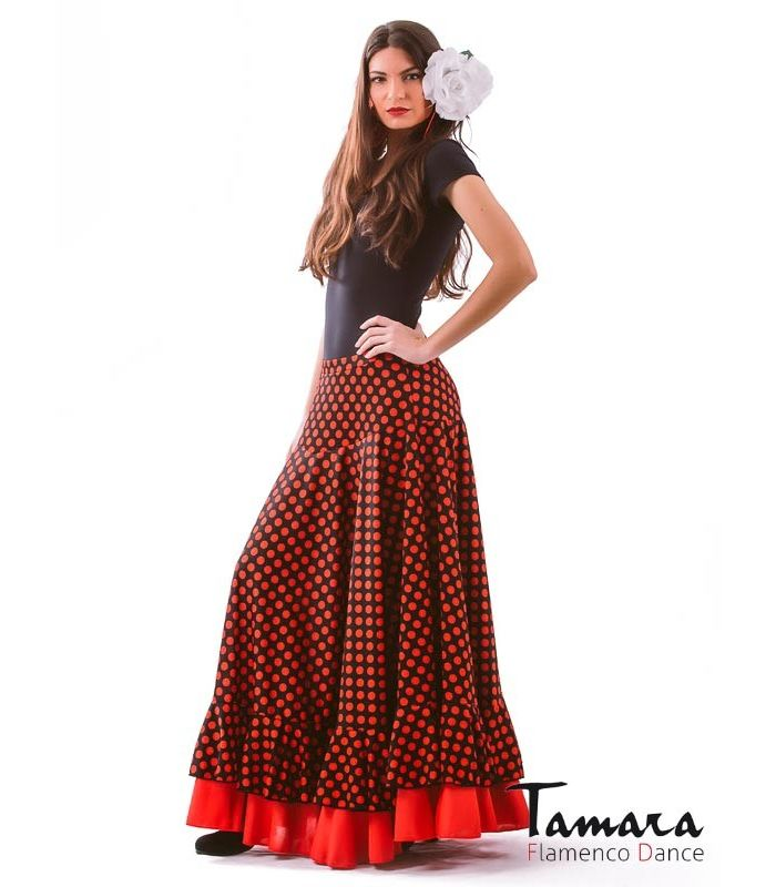9d0c25a27 Alborea polka dots Flamenco skirts for WOMAN | Tamara Flamenco
