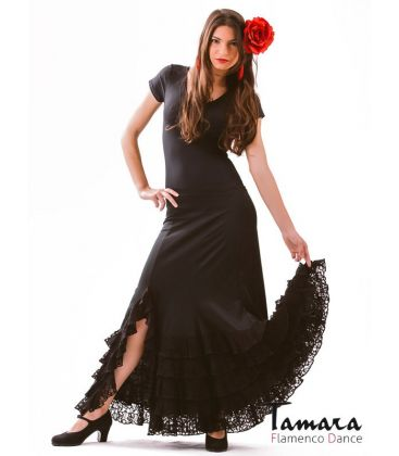 flamenco skirts for woman - - Aires - Viscose and lace