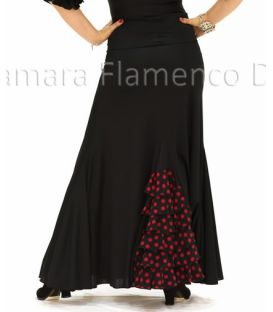 Almeria with polka dots girl - Knitted (skirt-dress)