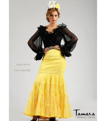 blouses and flamenco skirts in stock immediate shipment - Roal - Diana Blouse Superior