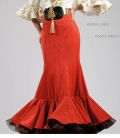 Flamenco dress Arena Superior skirt
