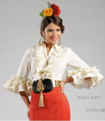 blouses and flamenco skirts - Roal - Jaen blouse