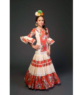 flamenco dresses 2017 - Aires de Feria - Triana girl Orange