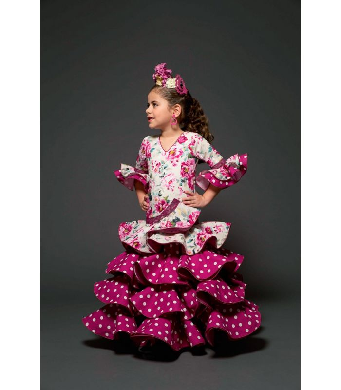 robe de flamenco romero enfant tamara flamenco. Black Bedroom Furniture Sets. Home Design Ideas
