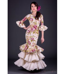 Flamenco dress Tiento Superior Printted