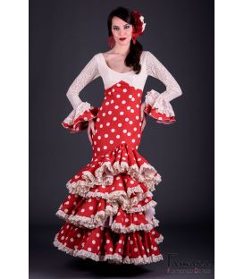 flamenca dresses 2018 for woman - - Gabriela Polka dots