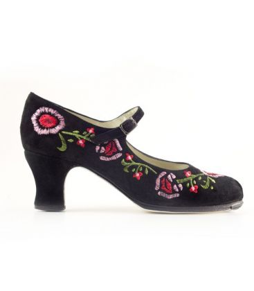 in stock flamenco shoes professionals - Begoña Cervera - Bordado Correa II (embroidered)