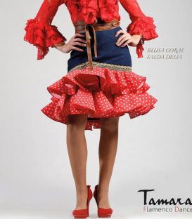 blouses and flamenco skirts - Roal - Flamenca dress 2017 Roal