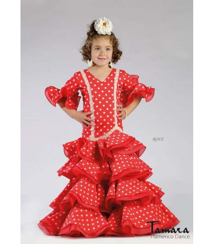 robe de flamenco roce enfant tamara flamenco. Black Bedroom Furniture Sets. Home Design Ideas