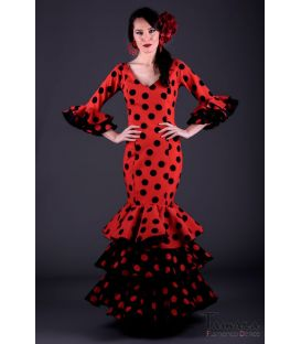 Flamenco dress Tiento Polka-dots