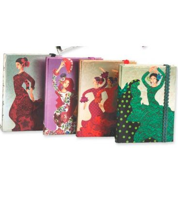 flamenco souvenirs - - Notebook Alegrias