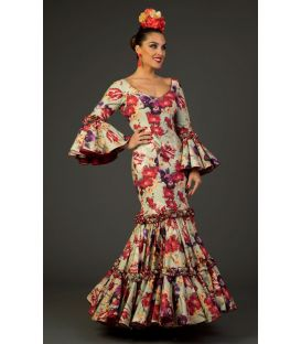 Flamenco dress Maravilla Printted green
