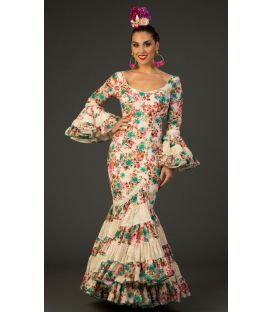 Flamenco dress Albaicin Beig