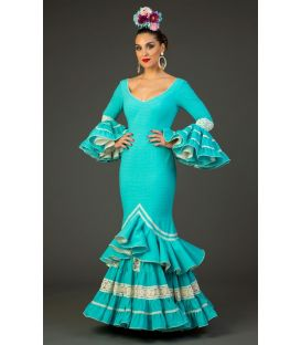Flamenco dress Albero Aqua
