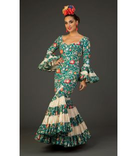 Flamenco dress Albaicin Flowers